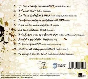"""Contraportada CD """"versos y coplas de ronda"""""""
